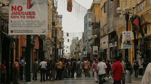 Jirón de la Unión es la cuarta calle comercial más cara de Latinoamérica