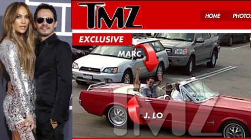 ¿Reconciliación? J.Lo y Marc Anthony habrían tenido una cita