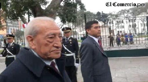 """Isaac Humala sobre el gobierno: """"No era estrictamente lo que esperaba"""""""