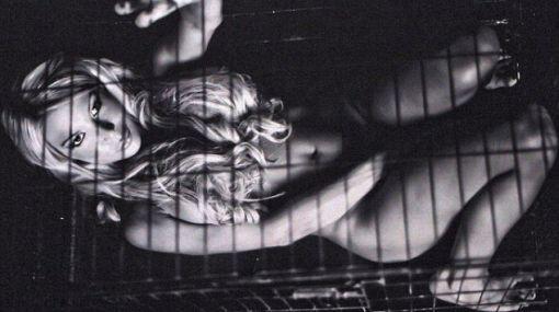 La hija de Hulk Hogan posó desnuda por los animales