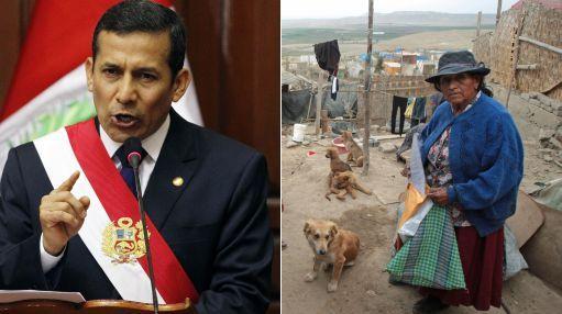 """Presidente Humala en Ica: """"Tenemos como prioridad reconstruir Pisco"""""""