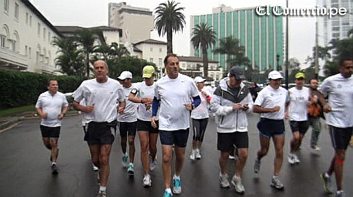 Maratón por la paz: cientos corrieron en contra de la violencia