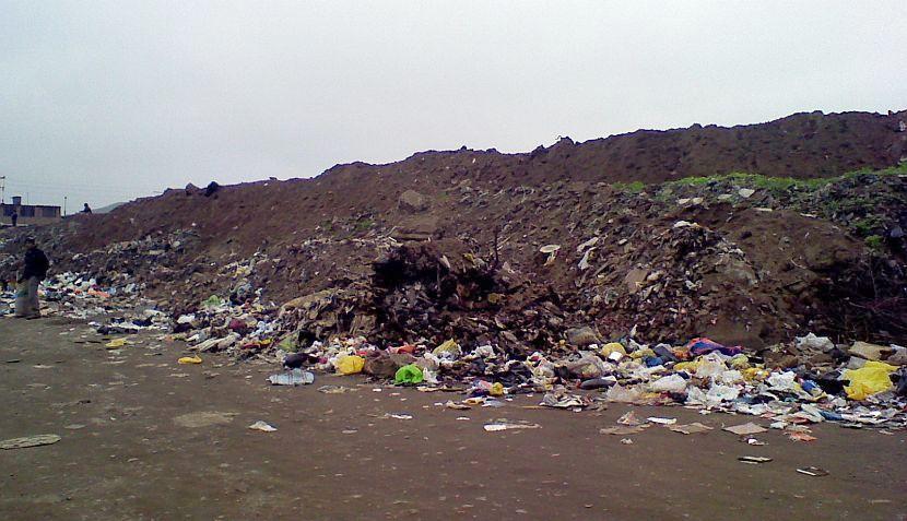 FOTOS: basura se acumula en vía pública de Villa María del Triunfo