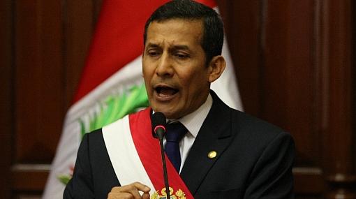 """Ollanta Humala: """"Ley de Consulta Previa es un signo de inclusión"""""""