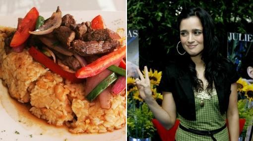 Julieta Venegas dice que no puede olvidar el sabor del tacu tacu