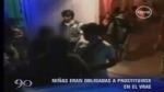 Abusos en el VRAE: decenas de niñas eran obligadas a prostituirse - Noticias de parroquianos