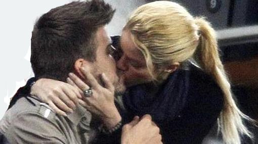Bésame mucho: Shakira y Piqué disfrutaron de candente sesión de arrumacos