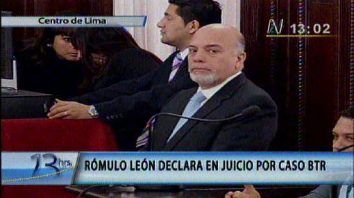"""Rómulo León: """"Mi amistad con Alan García terminó cuando me llamó rata"""""""
