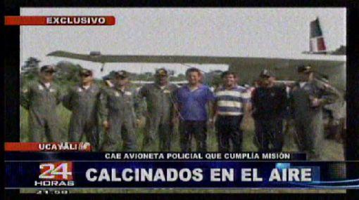 Difunden imágenes previas al trágico accidente de avioneta en Ucayali