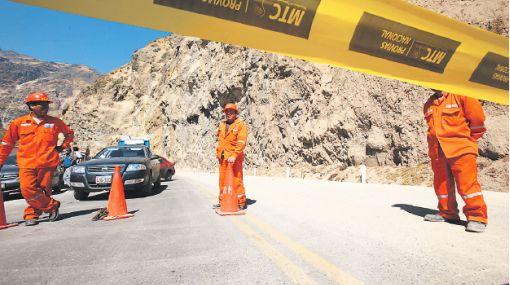 Hoy abrirían dos carriles de la Carretera Central en Huarochirí