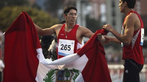 Jorge McFarlane clasificó a la final de salto largo en Panamericanos