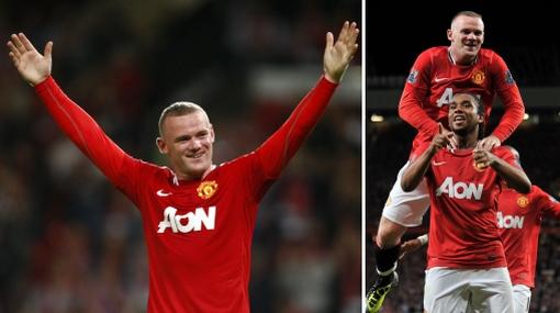 Manchester United goleó y es uno de los líderes de la Liga Premier