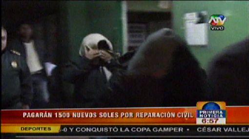 Chilenos fueron sentenciados a tres años de cárcel suspendida en Tacna