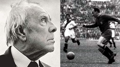 A Borges no le gustaba el fútbol, aunque hay quien dice que sí