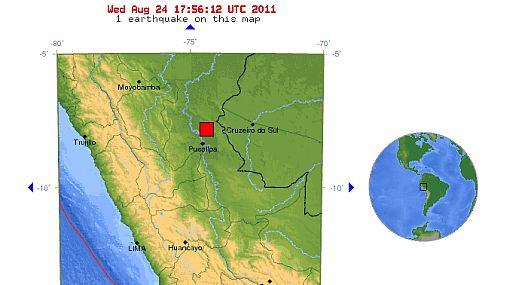 Sismo de 7 grados azotó Pucallpa y se sintió en varias ciudades del Perú