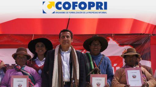 Presidente Humala designó al nuevo director ejecutivo de Cofopri