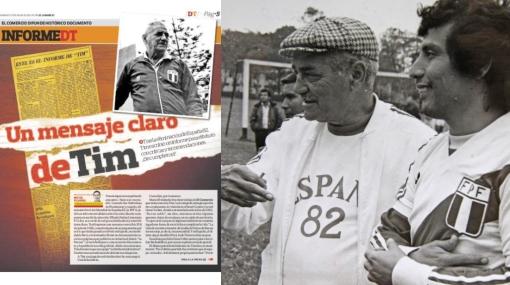 El informe de Tim tras la eliminación de Perú de España '82