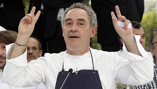 """Ferran Adrià: para España es """"un brote de esperanza"""" tener el mejor restaurante del mundo"""