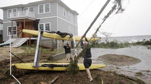 La cifra de muertos por el huracán Irene subió a 18