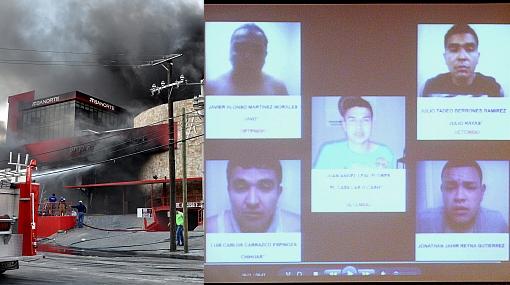 México: arrestan a culpables de ataque a casino que dejó 61 muertos