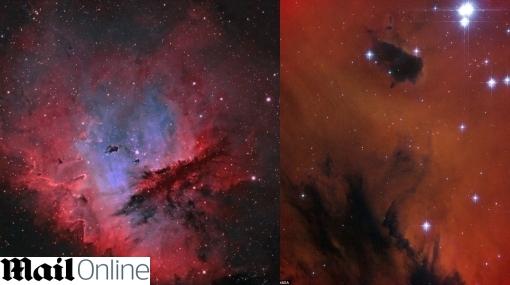 FOTOS: nebulosa Pac-Man deslumbra por sus millones de estrellas