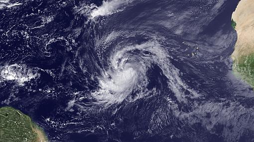 """""""Katia"""" podría convertirse en ciclón de categoría mayor este fin semana"""