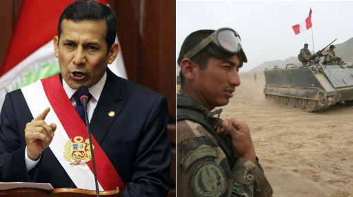 """Ollanta Humala a los jóvenes: """"Les pido que hagan el servicio militar"""""""