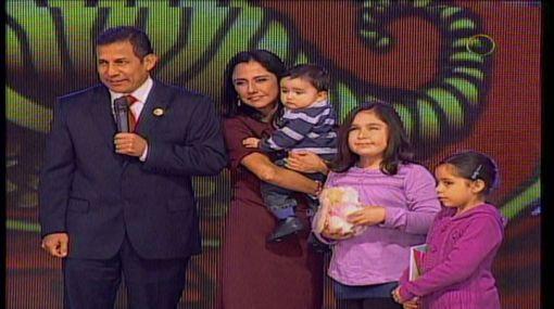 Teletón 2011 empezó esta noche con presencia de la familia presidencial