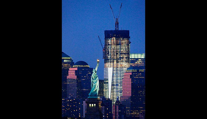 FOTOS: el nuevo World Trade Center se estrenará a 10 años del 11-S