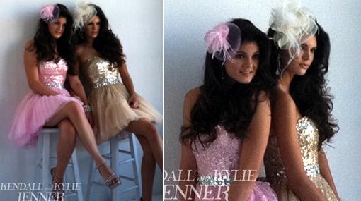 Las hermanas de Kim Kardashian se lucen en sesión de fotos