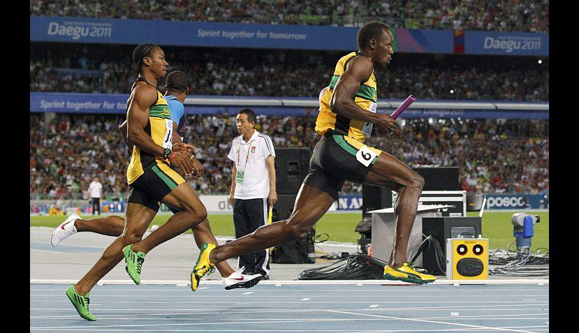 FOTOS: revive 'la revancha' de Usain Bolt en los 4x100 del Mundial de Atletismo