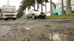 FOTOS: Los huecos en las pistas se multiplican en Lima - Noticias de javier pardo oeste