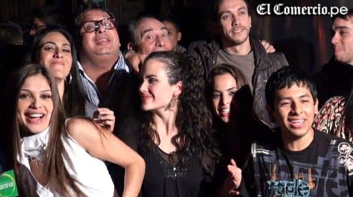 """Actores de """"La  bodeguita"""" celebraron el estreno de la teleserie"""