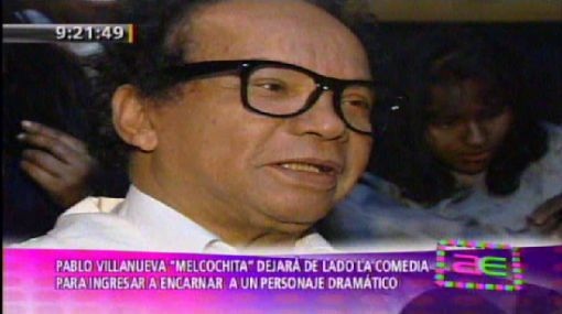 """""""Melcochita"""" deja la comedia por el drama teatral"""