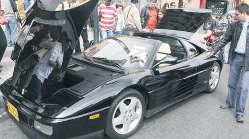 Colombia: Ferrari de narcotraficante se convertirá en patrulla policial