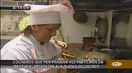 Cocineros debutantes en Mistura nos presentan sus platos