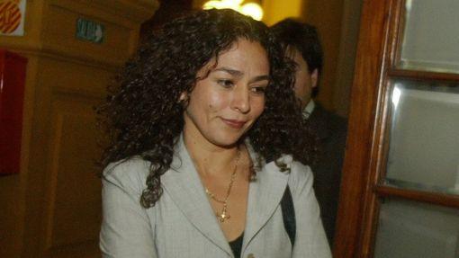 Cecilia Chacón fue dada de alta y hoy volvería al Congreso