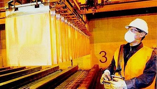 Precio del cobre se eleva por temor a menor oferta