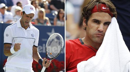 Djokovic venció a Federer en un titánico partido y llegó a la final del US Open