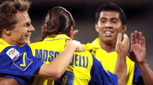 Rinaldo Cruzado debutó en la Serie A con un empate ante el Novara