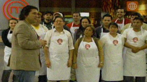 """La primera gran prueba del """"Máster Chef Perú"""" fue preparar un cebiche"""