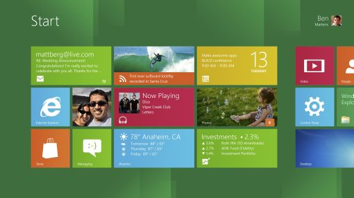 Este es el nuevo Windows 8, un sistema operativo para tabletas y PC