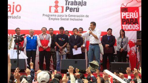 """Presidente Humala: """"A los corruptos los meto presos, eso lo voy a cumplir"""""""