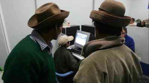 Cuatro ciudades del interior del país utilizan más Internet que Lima