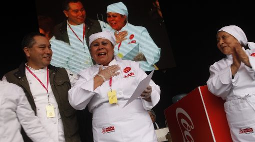 Chanfainita hecha con aceite de achiote ganó concurso en Mistura