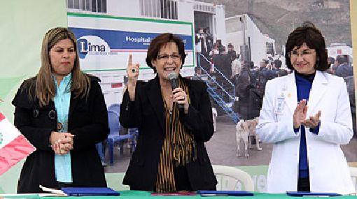 Villarán anunció construcción de Hospital de la Solidaridad en VMT