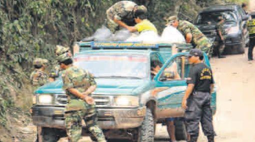 Junín: capturan a 8 presuntos terroristas en Satipo