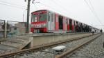 Tren eléctrico recién operaría a fin de año por retrasos de constructora - Noticias de ricardo cebrecos