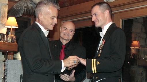La primera boda homosexual de un militar en Estados Unidos