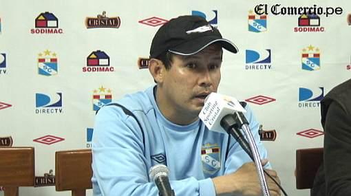 Juan Reynoso afirmó que Cristal juega bien pese a falta de goles